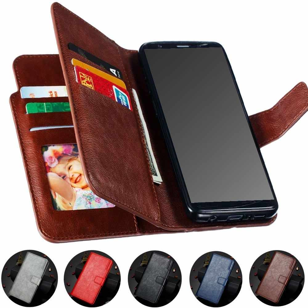 Luxury 9 Cards Case For Samsung Galaxy S7 S8 S9 J3 J4 J5 J6 J7 J8 A3 A5 A6 A8 Plus 2018 2017 2016 2015 Cover Leather Flip Wallet