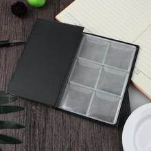 10 Pages 60 Pockets Coin Holders Collecting Album Storage Coin Collection Supplies Book Mini Currency Holder Collecting Album(China)