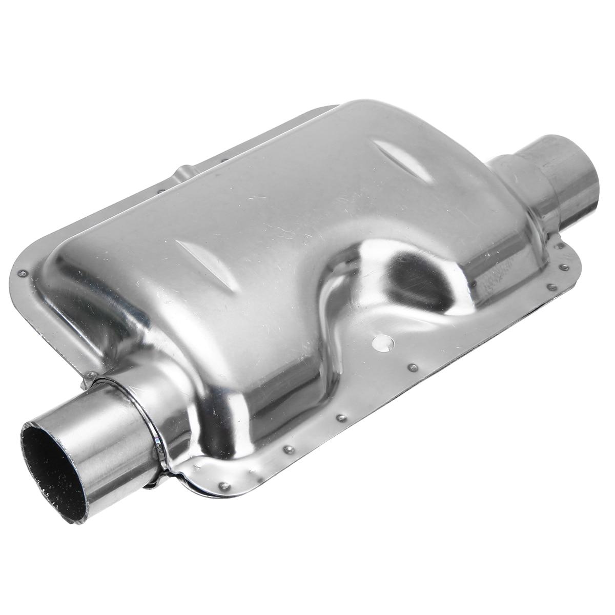 24mm Stainless Steel Exhaust Silencer Muffler For Air Diesel Car Parking Heater