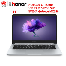 HUAWEI Honor MagicBook ноутбук 14 ''16:9 Full HD Windows 10 Pro AMD Ryzen 5 2500U 4 ядра 8 ГБ DDR5 256 ГБ SSD Тетрадь HDMI(China)