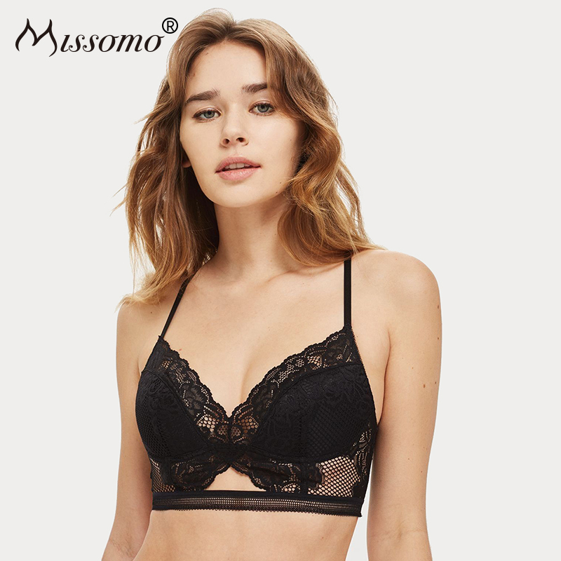 c3016ebd5e7 Detail Feedback Questions about Missomo Floral Lace Soft Women Bra ...