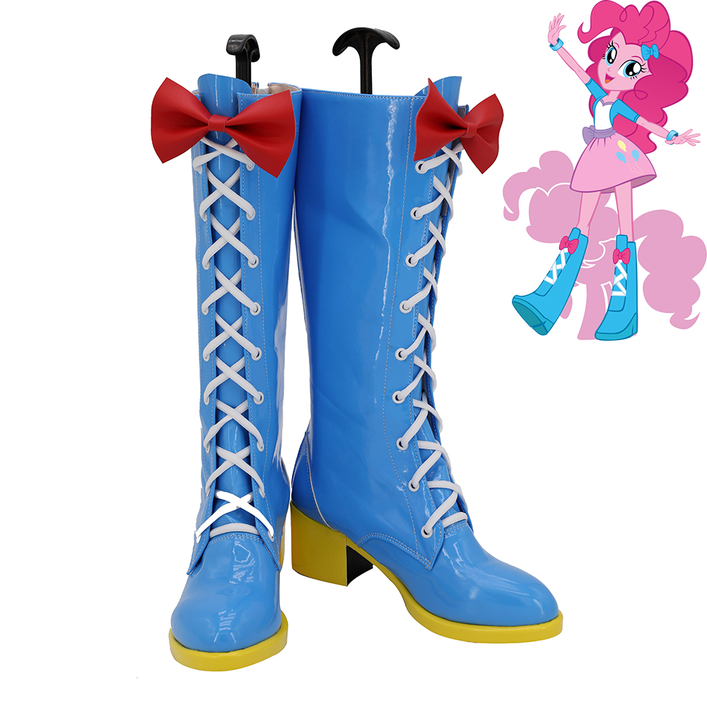 My Little Pony Friendship is Magic Pinkie Pie Cosplay Shoes Women Boots