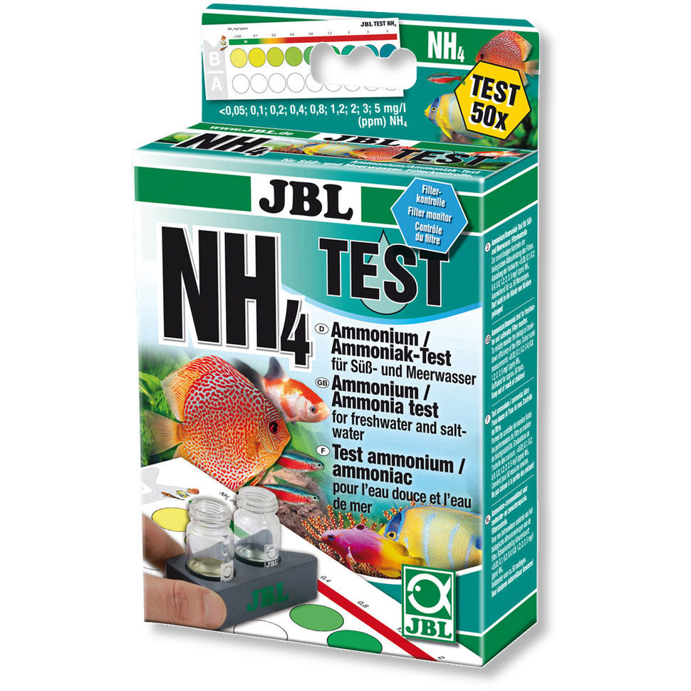 -Measures the total ammonia Tetra Test NH3//NH4