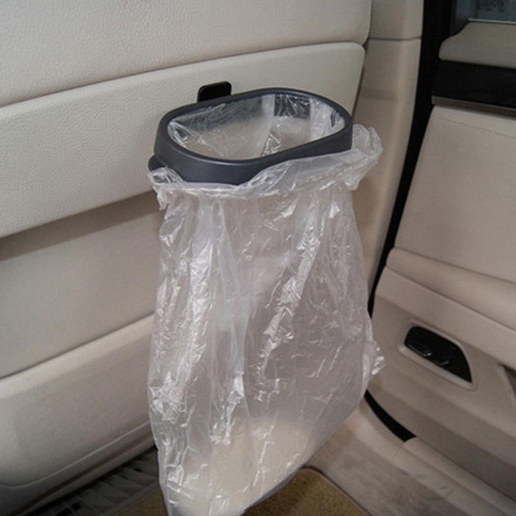 Car Rubbish Bag Plastic Clip Vehicle Garbage Bags Frame Pasted Trash Holder