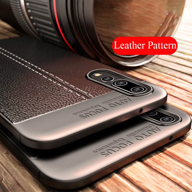 Shockproof Phone Case For Huawei Nova 3i 3e P20 Pro P9 Lite Y9 2018 Rubber TPU Leather Slim Case Cover For Huawei Y5 Y6 2017 P10(China)