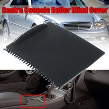 Blind-Cover Slide-Roller Storage Console Car-Water-Cup-Holder W203 Mercedes New for C-Class