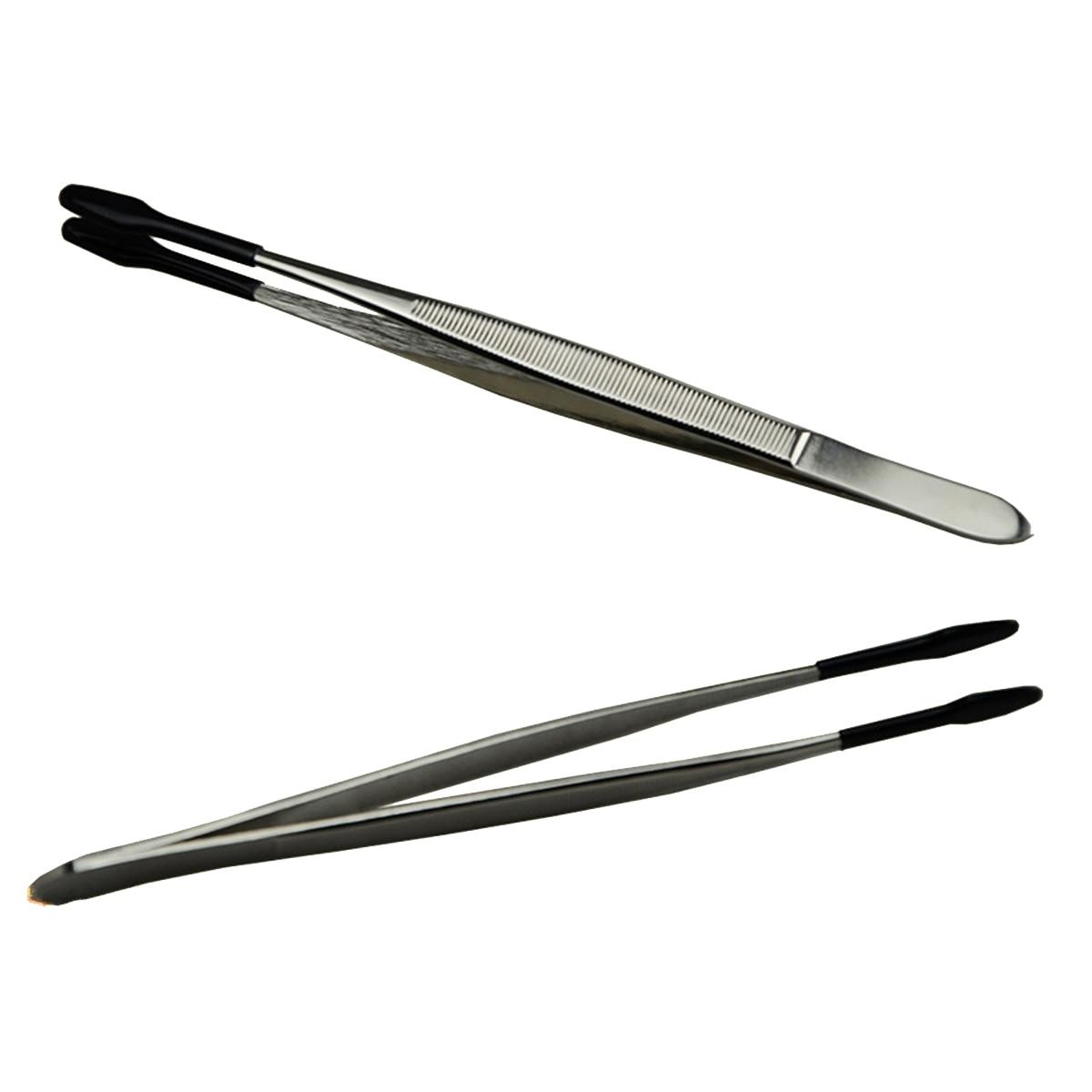 Wafer Tweezers Stainless Steel Tweezers Delicated Chip Wafer Tweezers