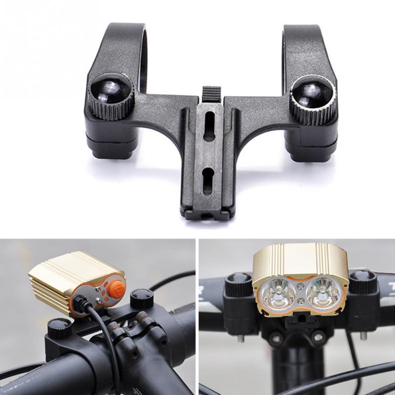 MTB Bicycle Bike Handlebar Mount Bracket Flashlight Torch Clip Holder Clamp Tool