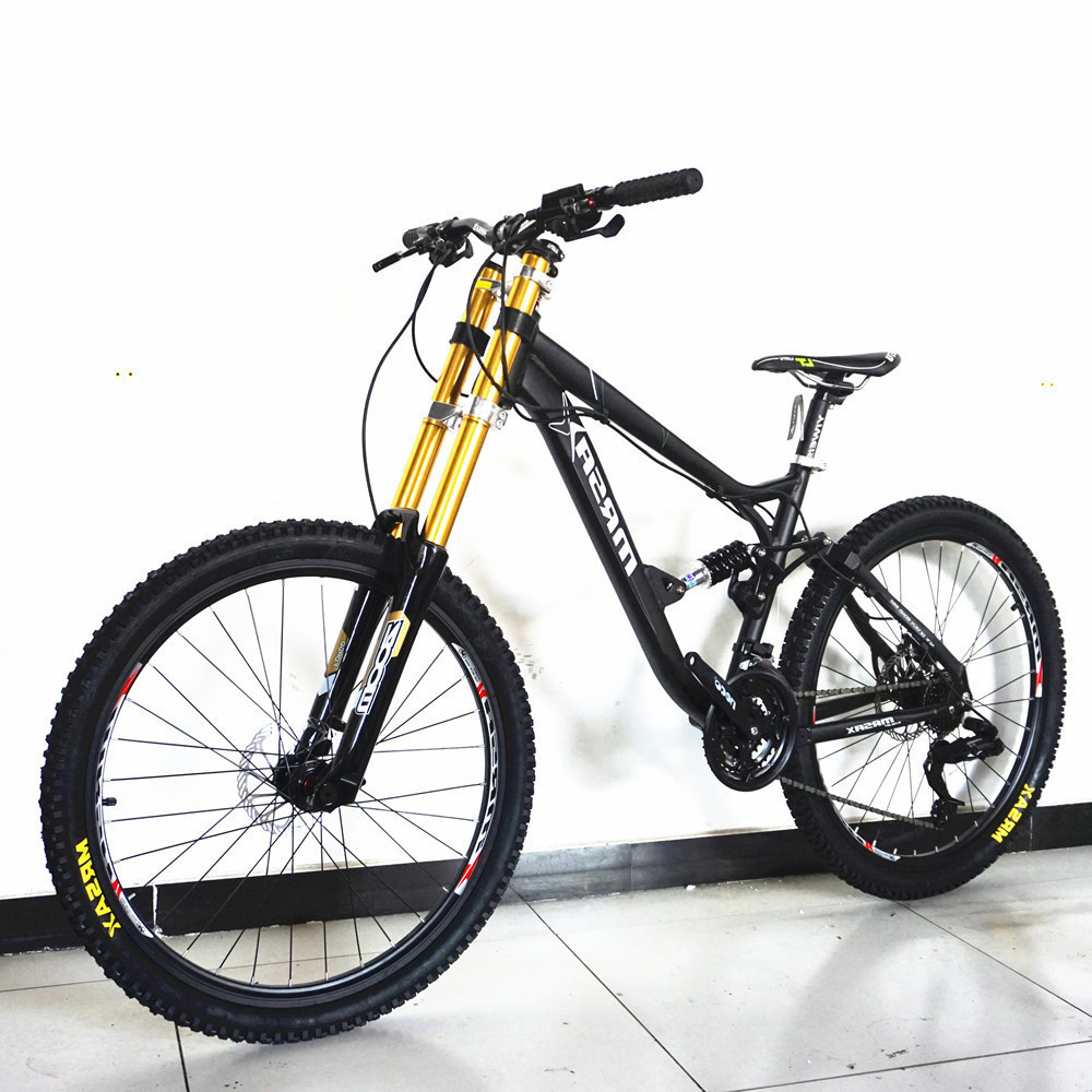 Mtb Bicycle Oil-Disc-Brake Mountain-Bike Soft-Tail-Bicicleta Downhill Aluminum-Alloy-Frame title=