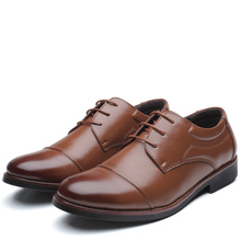 Shoes Shoes Black Brown Shoes Dress Leather Sapato Oxford Men Formal Oxfords Shoes Sneakers Men(China)