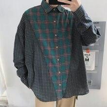 Camisa Promoción Hombres De Los A Verde Camisa de Cuadros de alta N80nvmw