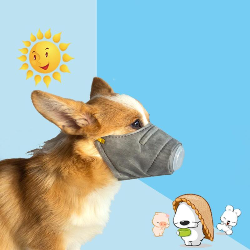 Home Pet Dog Smog Protective Mask Recovery Sleeve For Haze Dust Days Puppy Cat Reusable Health Care Mask Pet Outdoor Walking Products