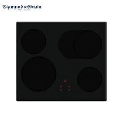 Электрическая варочная поверхность Zigmund & Shtain CNS 159.60 WX: ширина 60 см, защита от перегрева, перелива, индикация остаточного тепла