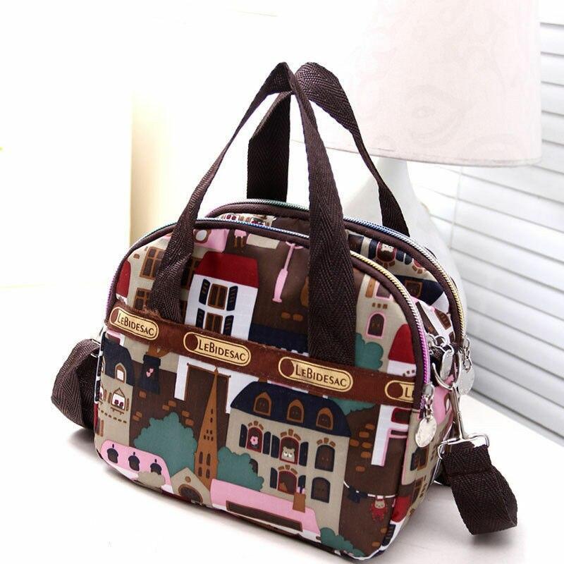 Women/'s Satchel Shoulder Bag Tote Messenger Cross Body Waterproof Canvas Handbag
