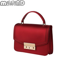 def261964853 MIWIND 2019 New PVC Messenger Bags Women Solid Candy Color Handbag    Shoulder Jelly Bag Purse Female Crossbody Bag for Ladies