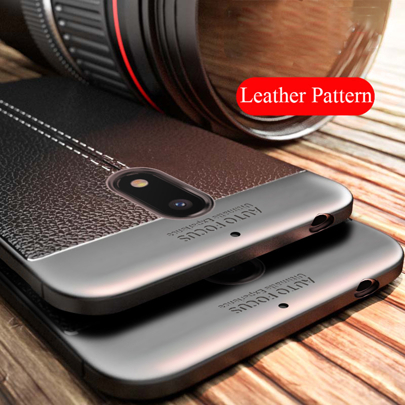 Shockproof Leather Pattern Soft TPU Case Cover For Nokia 1 2 3 5 6 7 8 Water Resistant Phone Cases For Nokia 6 2018 7 Plus 8 9 (China)