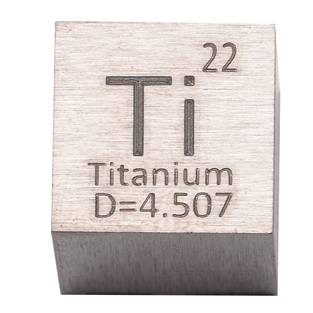 UNIQUE METAL GIFT MINI 10 MM  CUBE  SQUARE  99.99 /% PURE TI TITANIUM  METAL