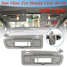 Front Left Right Car LHD Sun Visor Driver Passenger Side Sunshade Sun  Shield With c64198e19af