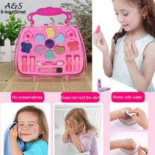 toys for girls Box Pretend Princess makeup for girls  Kids toys kids Make-Up Girls Traveling Cosmetic(China)