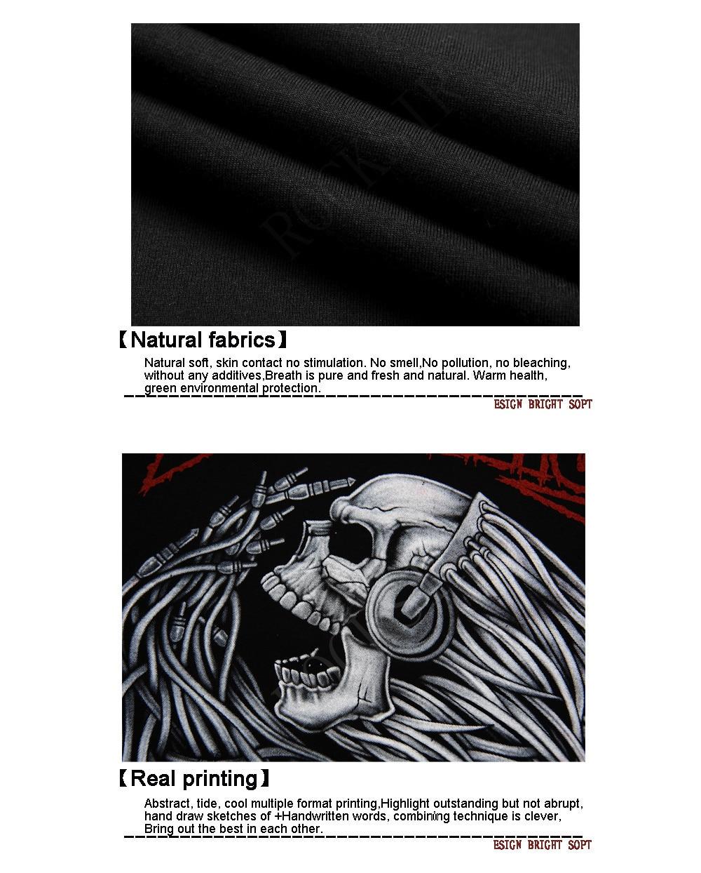 HLB1nedFFVXXXXatXVXXq6xXFXXXR - [Mne bone] Tee Men Black T-Shirt 100% Cotton Metallica Skull Print Heavy Metal Rock Hip Hop Clothing Black short T shirts