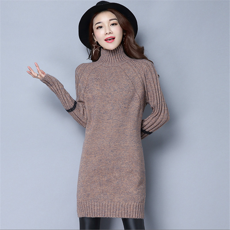 Autumn And Winter Long Sleeve New Pattern Sweater Pullover Thickening Upper Garment Woman
