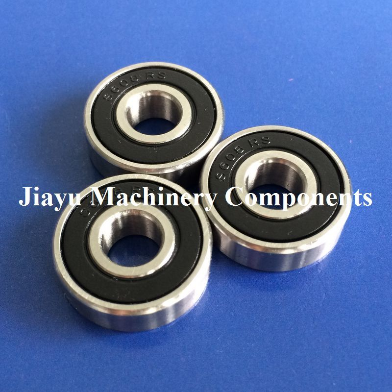 440c Stainless Steel Rubber Sealed Ball Bearings S698-2RS 10 PCS 8x19x6 mm