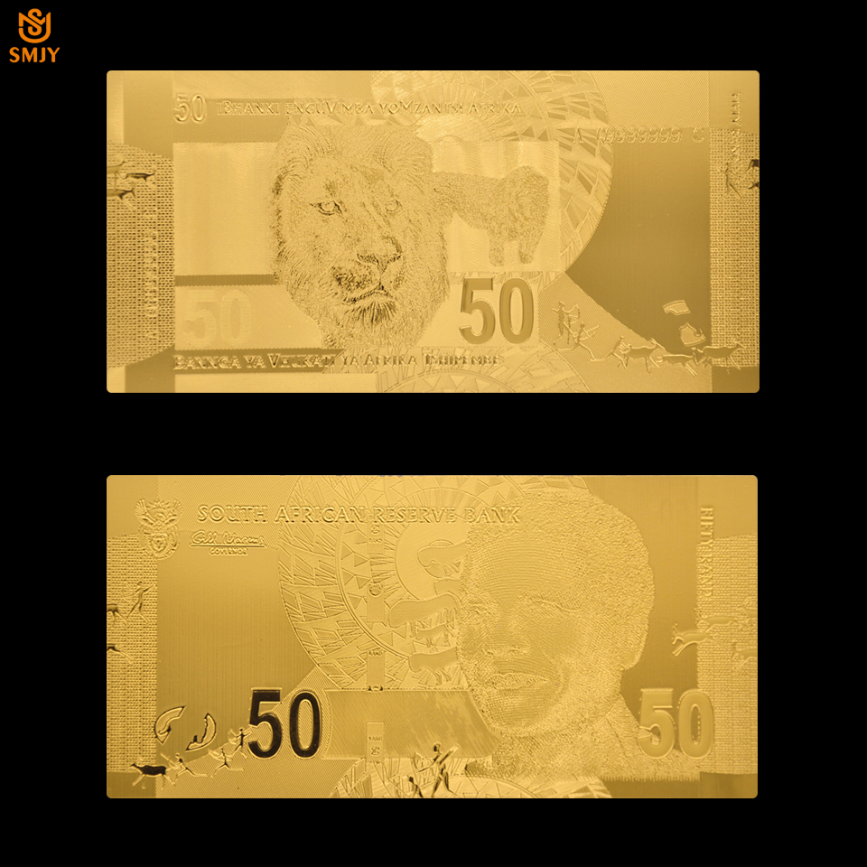 10-200 RAND SOUTH  AFRICA  Complete Set  of 5 notes 2018 Uncirculated