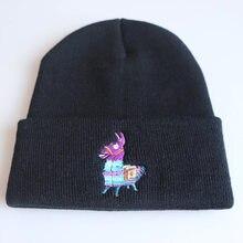 Fort conocido juego ovejas Llama otoño casuales de los hombres de Hip Hop  sombreros de punto sombrero de invierno cálido sombrer. c232348ff42