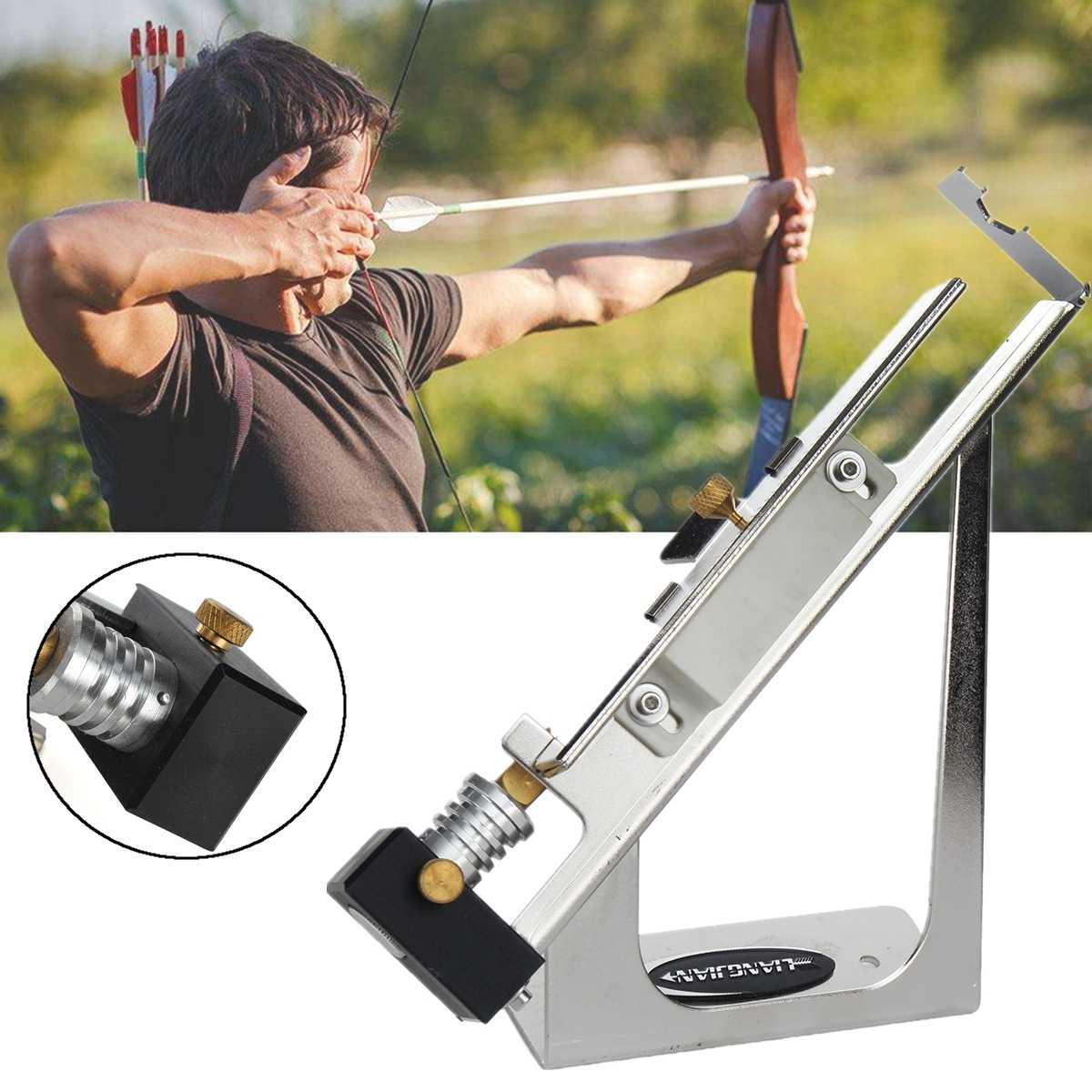 Arrow Feather Sticks Adhere Markers Scriber Archery Fletching Jig Bonding Tools
