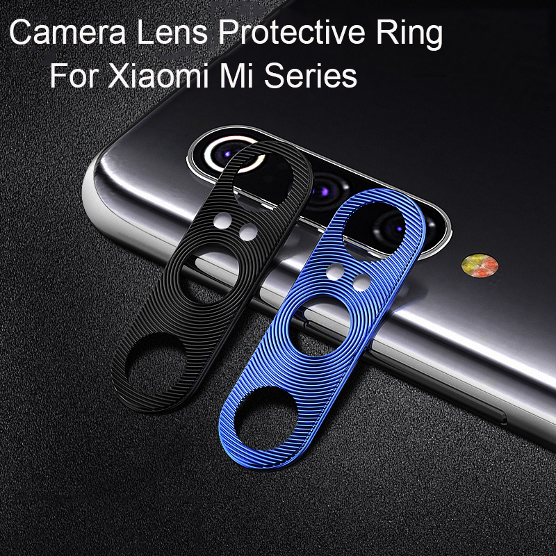 Camera Lens Protective Ring For Xiaomi Mi 9 8 SE A2 Redmi Note 7 Pro Metal Real Mobile Phone Camera Lens Protector Cover Case   (China)