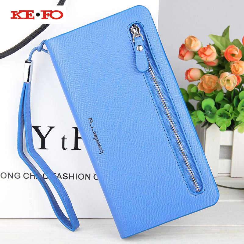 Zipper Purse Wallet Flip Leather Case For Xiaomi Mi 8 SE 5s A1 A2 Lite Redmi 6A 6 Pro 4A 5 Plus S2 4X 5A Global Version Y1 Cover
