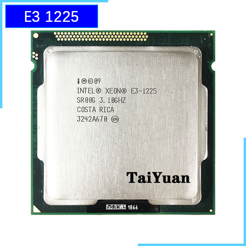 Intel Xeon E3-1225 E3 1225 3.1 GHz Quad-Core CPU Processor 6M 95W LGA 1155 title=
