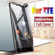 2.5D ZTE blade V18 N3 Nubia Z17 Z18 Z17s Z11 mini S Axon 7 Axon7 Cover Protective Film Tempered Glass ZTE blade v8 Case