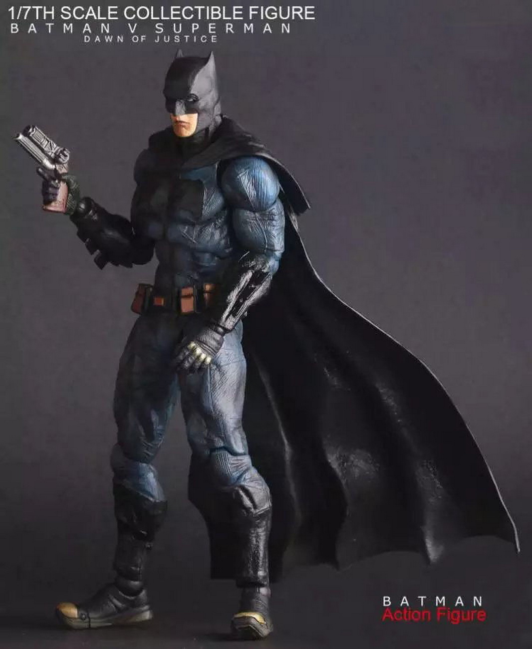 DC Comics Batman vs Superman Armor Movable Crazy Toys Figure Figurine No Box