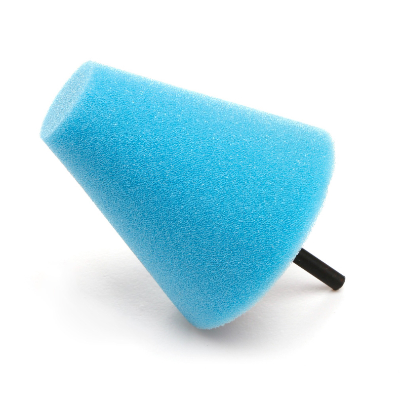 Car Wheel Hub Polish Buffing Shank Polishing Sponge Cone Metal Foam Pad Calm