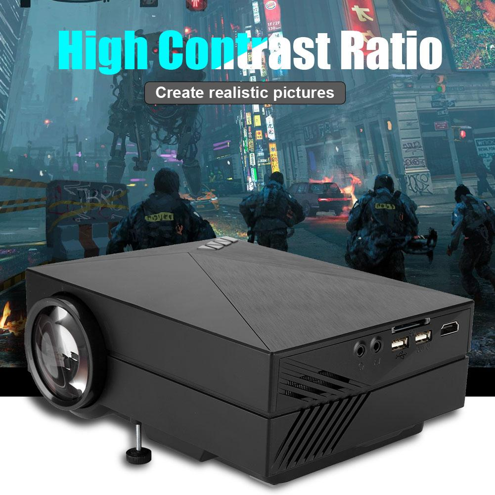 Diffuse Reflection Eyes Protection Home LED Projector 1080P Full HD Projector Stereo Surround Sound