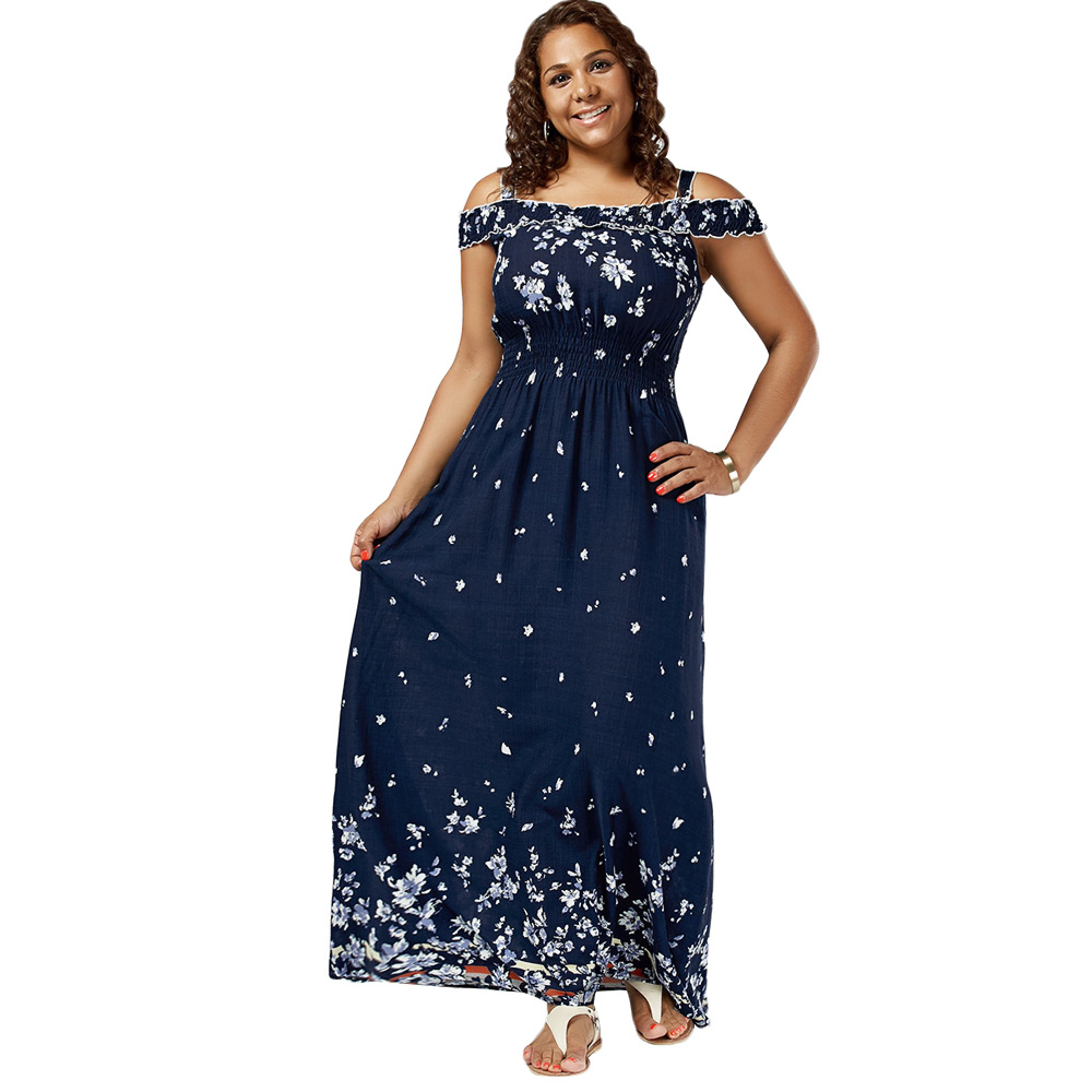 Dresses Length Floor-Length Neckline Square Collar Sleeve Type Cold  Shoulder Sleeve Length Short Sleeves Waist Empire Pattern Type Floral With  Belt No 43f30b3c2f84