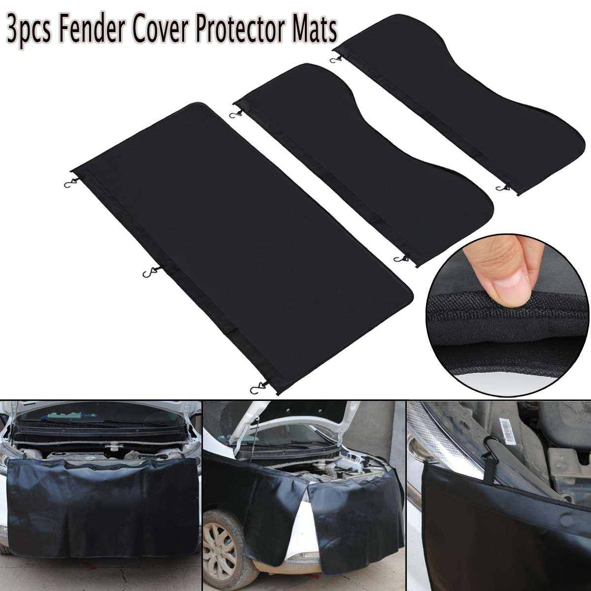 Protector Fender-Cover Work-Mat Mechanic Auto-Repairing-Pad Magnetic Universal Car  title=