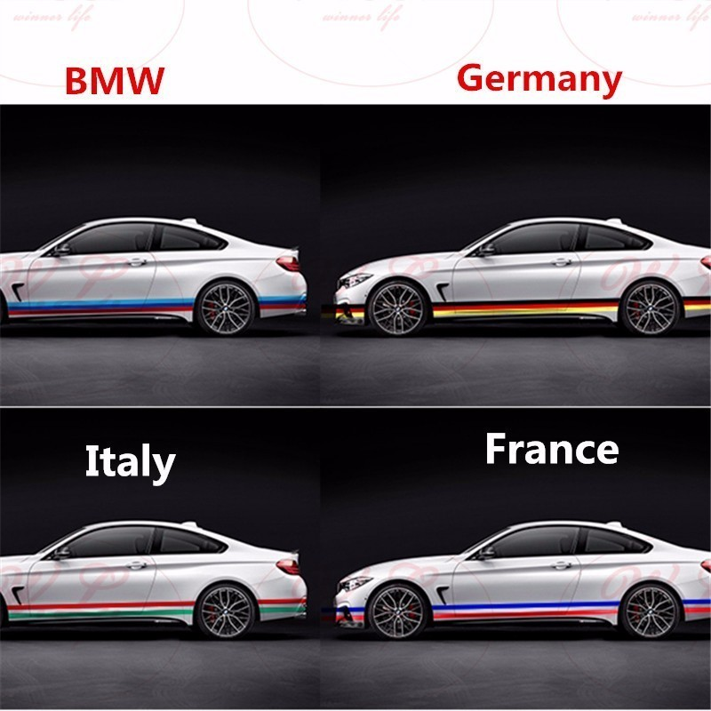 German Color 3D BMW N54 Carbon Fiber Badge for Trunk or Engine Cover