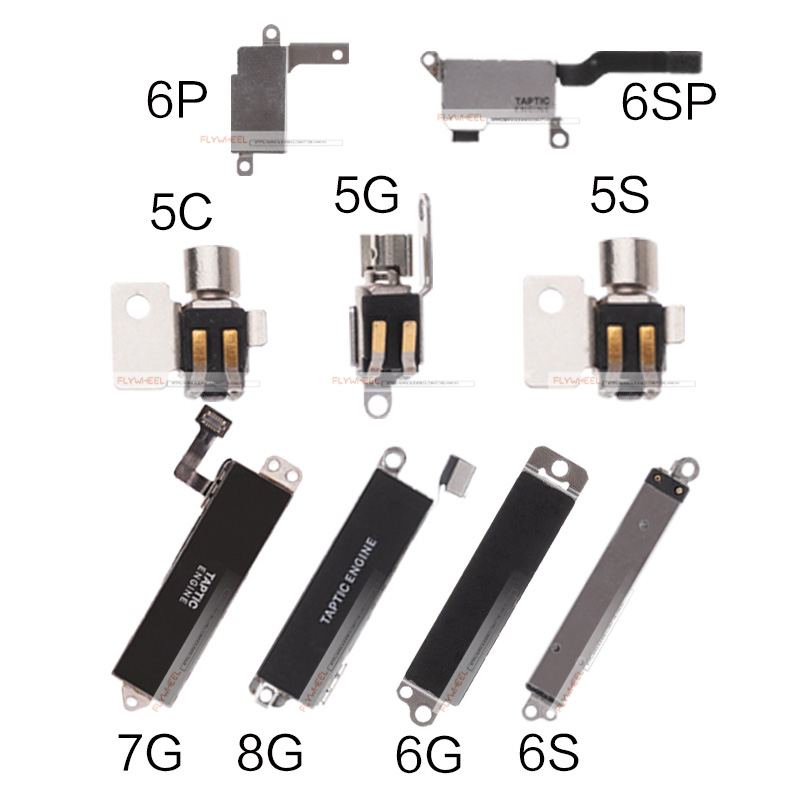 Flex-Cable Vibrator Motor-Repair-Parts iPhone 5 8-Plus for 5S 5C 1pcs 6S 7 title=