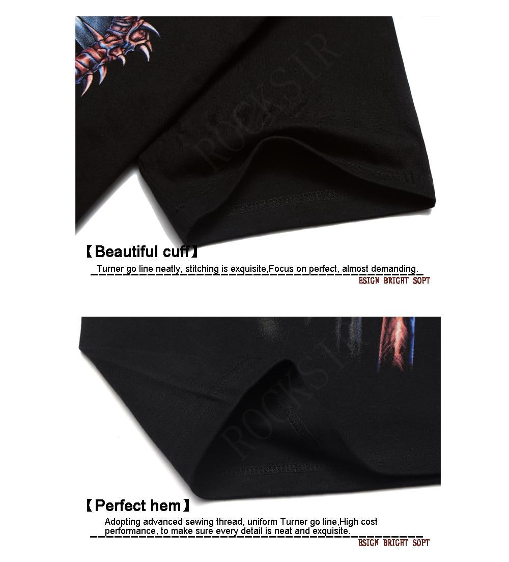 HLB1wFFGFVXXXXcTXVXXq6xXFXXXB - [Mne bone] Tee Men Black T-Shirt 100% Cotton Metallica Skull Print Heavy Metal Rock Hip Hop Clothing Black short T shirts