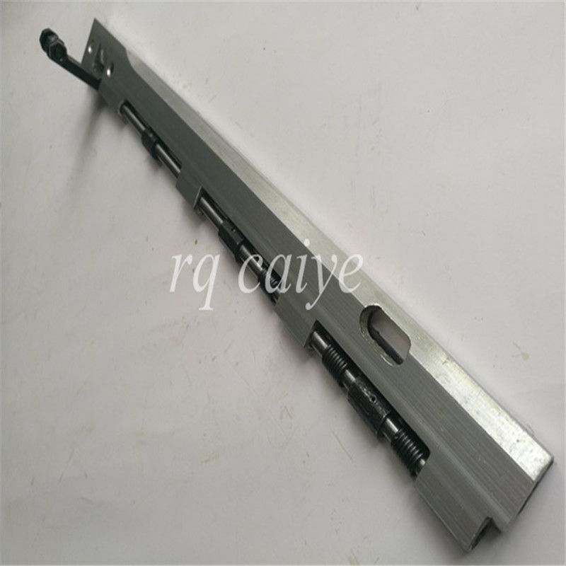 5 piecesT-1304F gripper bar, 10x15 gripper bar T-Platen press Length=353mm
