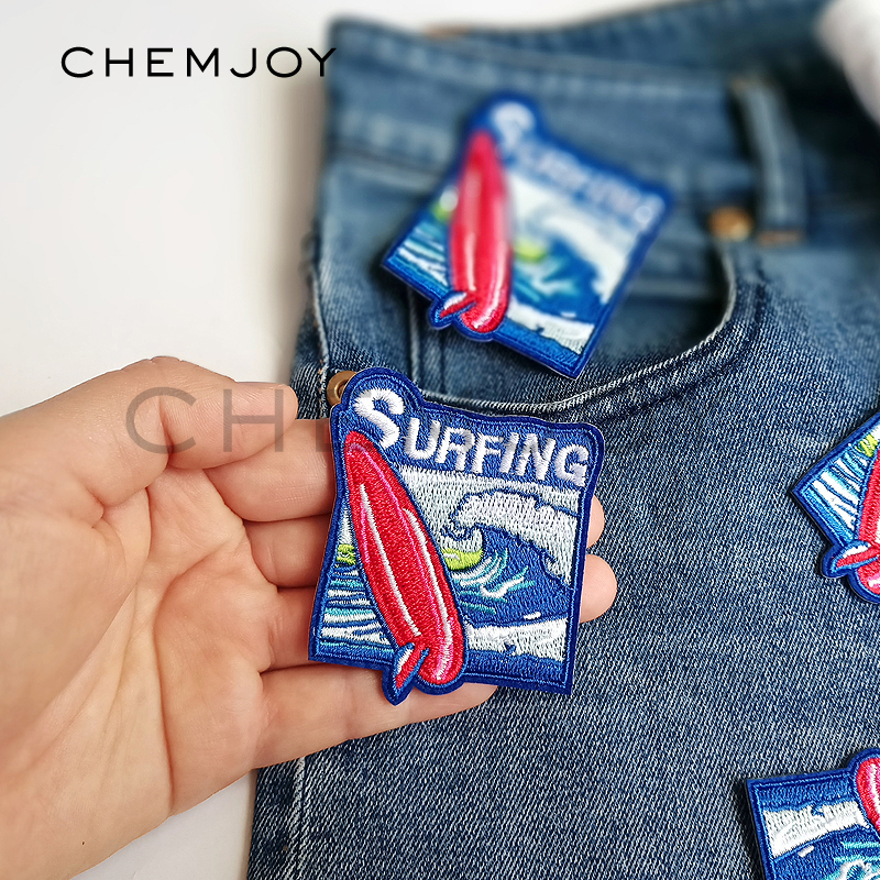 Tropical Fish Patch Iron Sew On Jeans T Shirt Clothes Embroidered Badge Applique