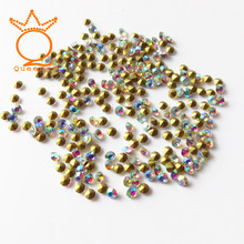 AB color ss3-ss30 Nails Crystal Pointback Stone Glass Strass Chaton  Rhinestones For Nail Art DIY Dress Decor Accessories 4ecf53ac337b