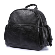 Changing-Bag Diaper-Bag Nappy Travel Backpack Black Large-Capacity Baby Fashion Maternity