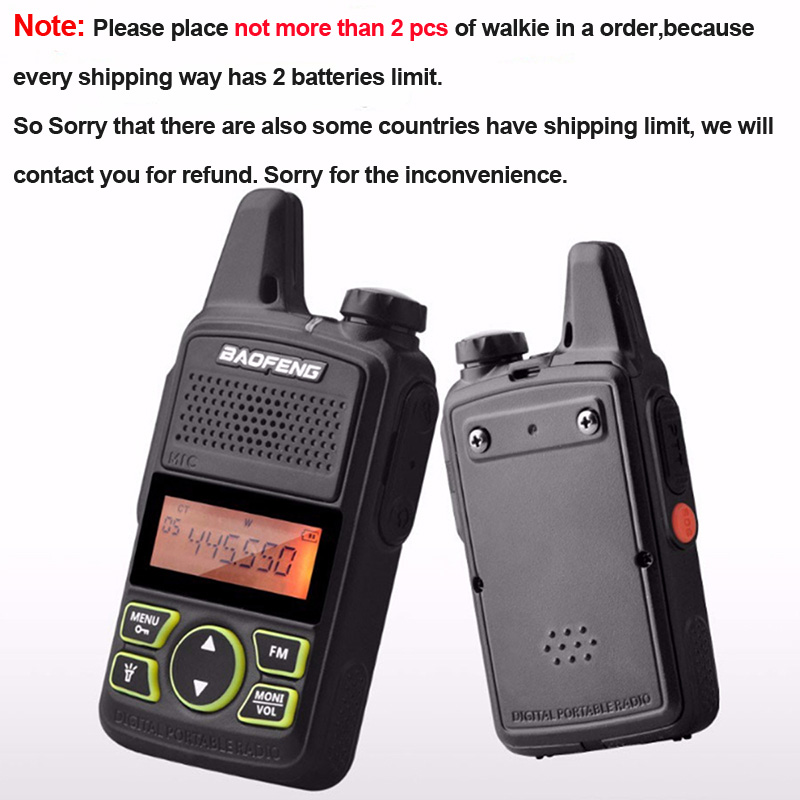 10* Retevis RT22 Walkie Talkie16CH UHF CTCSS//DCS Two Way Radio+10pc PTT Mic NEW