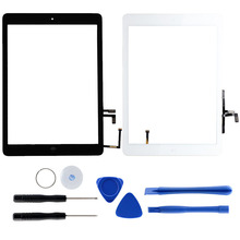 Home Button Flex Digitizer Voor IPad A1474 Voor IPad A1475 Touch Screen Capacitieve Met Reparatie Tools LCD Lijm Voor IPad air ~(China)