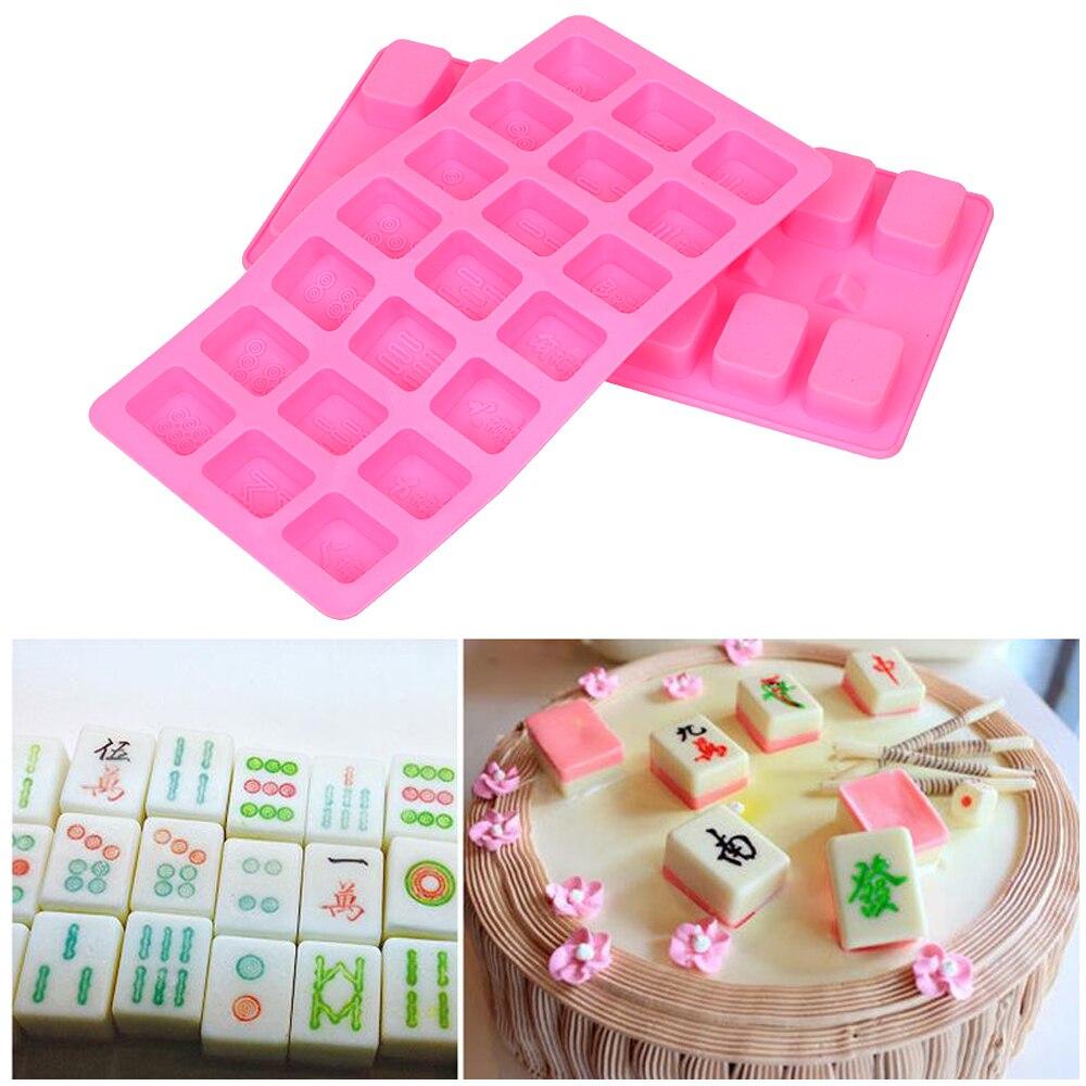 Moule en silicone Ice Cube Bonbons Gâteau Fondant Chocolat Moule Shan
