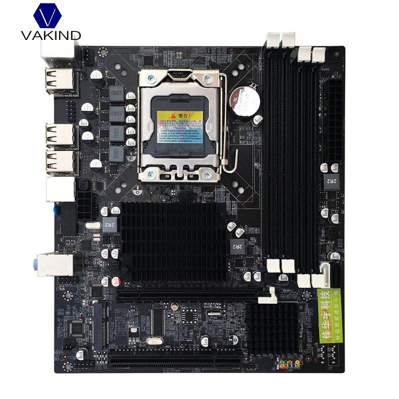 Neue X58 Pci-e X16 Pc Computer Desktop Motherboard Lga 1366 Cpu Interface 2xddr3 Dimm Msata V1.6 Mainboard Systemboard Computerkomponenten Motherboards