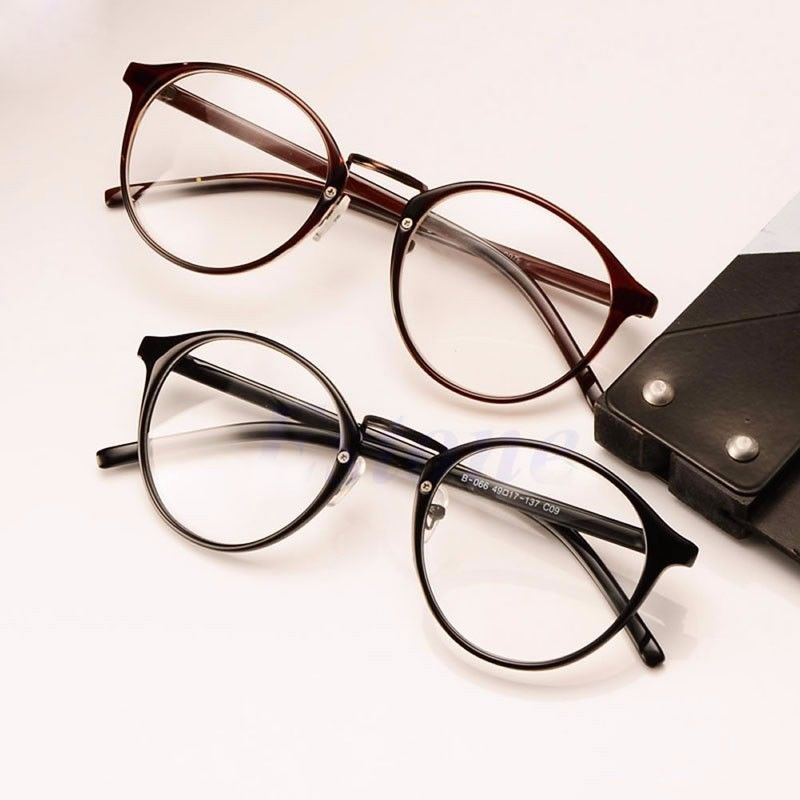 New Shades Retro Sunglasses Clear Lens Classic Party Hot Lunette  Frame Nerd